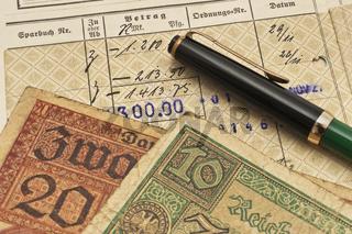 altes Sparbuch | old bankbook