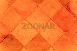 Vintage floor tiles pattern
