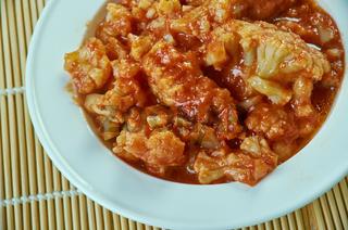 Cauliflower Pachadi
