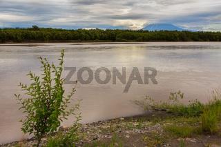 River Zhupanova. Kronotsky Nature Reserve on Kamchatka