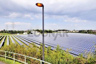 Die derzeit grösste Freiflächen-Photovoltaikanlage in NRW
