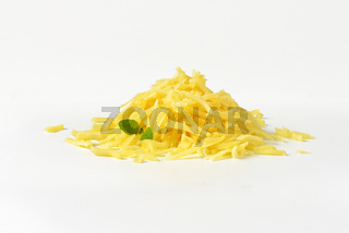 grated Swiss cheese