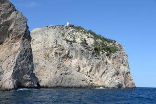 Leuchtturm an der Formentor-Halbinsel, Mallorca