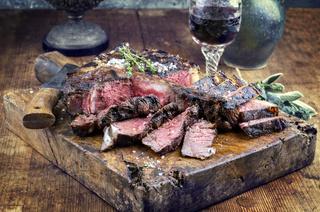 Dry Aged Barbecue Porterhouse Steak