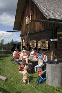 Blabergalm im Nationalpark Kalkalpen, Oberösterreich, Österreich
