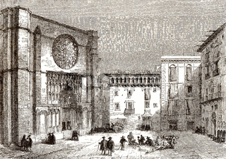 Santa Maria del Mar, Ribera district, Barcelona, Spain, 18th century