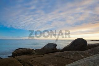 Sunset on Lanzada Beach,Spain