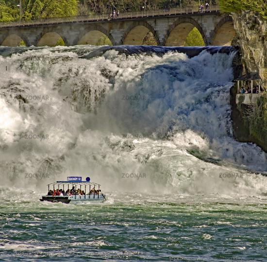 Rhine Falls Neuhausen near Schaffhausen, Switzerland