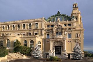 Monte-Carlo, Casino und Oper von Architekt Charles Garnier
