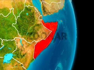 Somalia on Earth