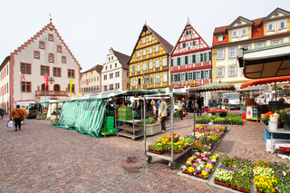Marketplace of Bad Mergentheim