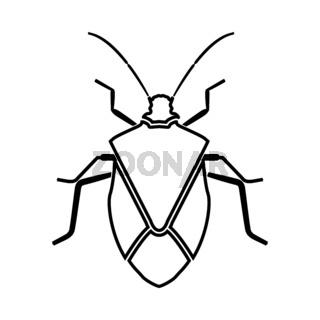 Bug it is black icon .