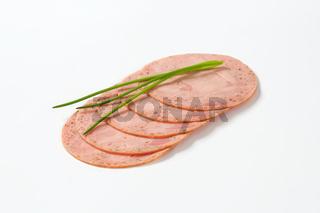 soft sausage slices