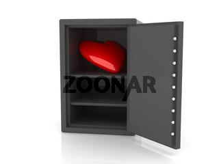 Heart in a Safe
