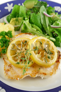 Fried Perch With Lemon
