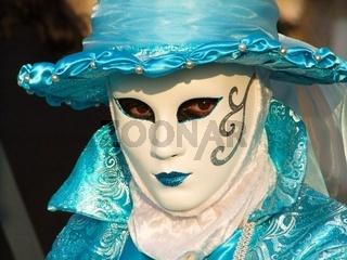 Tuerkise maske-turquoise mask
