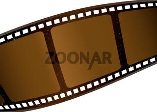 brown film strip