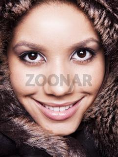 Beauty portrait of a female model