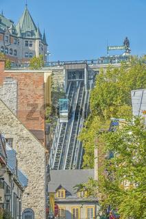 funicular railway, Quebec City, Canada