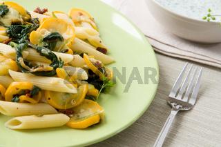 Gemüse Nudelsalat - Vegetables Pasta Salad