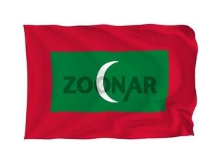 Flagge Malediven