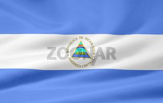 Flagge von Nicaragua