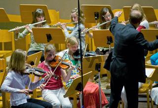Konzert mit einem Schülerorchester