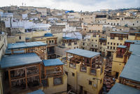 View of Fez, Morocco, North Africa