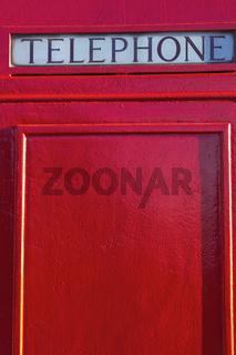 London style Telephone Box