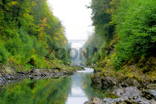 Quechee Gorge in Vermont