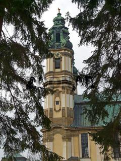 Tum der Klosterkirche in Gruessau