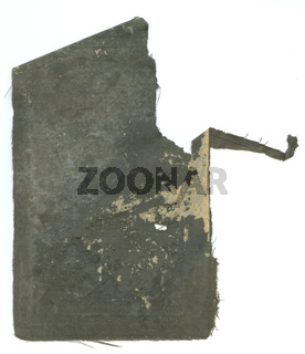 Old antique paper from a book or note pad blank retro background
