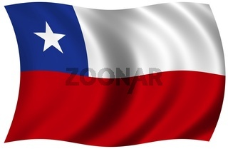 Nationalfahne von Chile