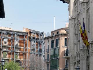 Palma de Mallorca - Bauruine im Zentrum