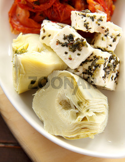 Artichokes And Feta Cheese