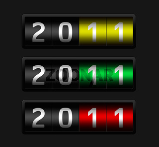 Jahreszahl 2011