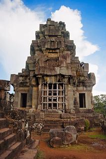 Ta Keo temple, Angkor, Cambodia. Massive unfinished mountain temple