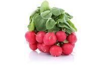 Radieschen Gemüse Freisteller freigestellt isoliert