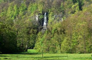 Uracher Wasserfall; Bad Urach; Deutschland; Schwaebische Alb;