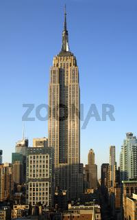 Das State Empire Building, Manhattan, New York
