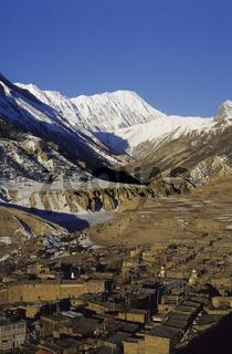 Manang, Annapurna Massiv, Nepal Manang, Annapurna Massiv, Nepal