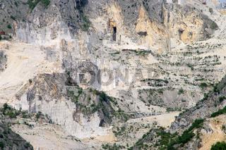 Carrara Marmor Steinbruch