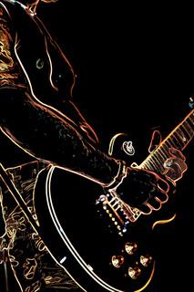 Hard Rock Gitarre spielen