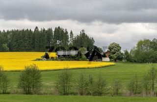 Oberfraenkischer Bauernhof