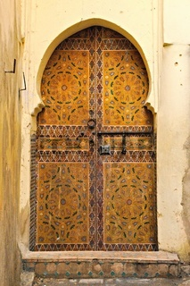 Tür in Fes