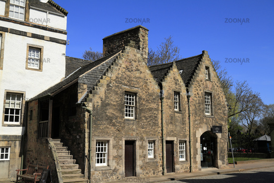 Building at the Palace of Holyroodhouse in Edinburgh - Scotland