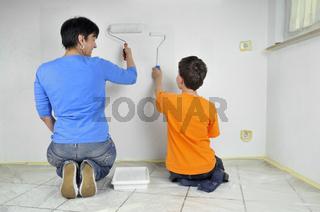 Malerarbeiten - Paintwork