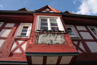 Fachwerkhaus in der Altstadt von Idstein im Taunus