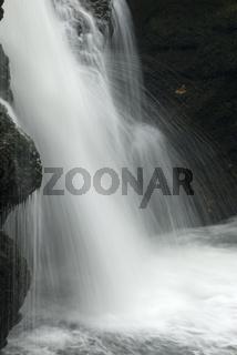 Wasserfall am Traunfall, Viecht, Oberösterreich, Österreich