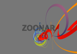 modern background with colored swirls